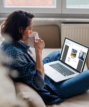 Quick-Start-Image1-Lady-Laptop-Coffee